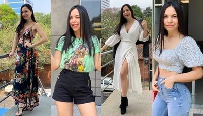 """Los mejores looks de Meli Quiñónez para """"E40 TV"""""""