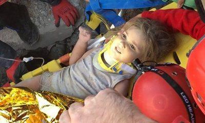 Turquía: Rescatan a una niña 91 horas después del terremoto