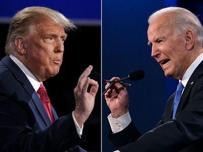 Trump y Biden cabeza a cabeza en elecciones en EEUU con gran suspenso