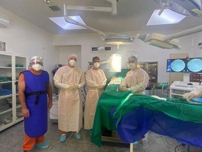Cirugía inédita y exitosa en la XIII Región Sanitaria