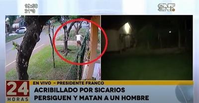 Sicarios acribillan a un hombre en Presidente Franco