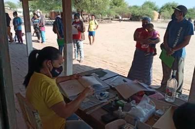 Jornada de Casas de Justicia Móvil en comunidades Indígenas del Departamento de Boquerón
