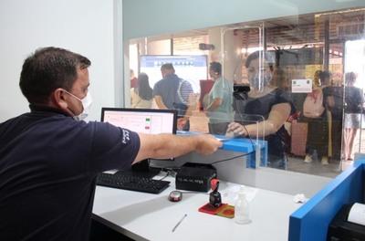 Migraciones recuerda que es obligatorio el registro de ingreso y salida del país fuera del régimen de tránsito libre con Brasil