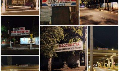 Pasacalles contra el clan Bachetta en varias calles de Ciudad del Este