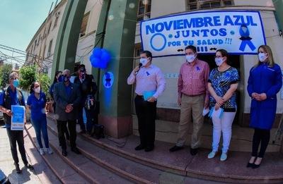 Noviembre azul es el mes dedicado a la salud integral del hombre