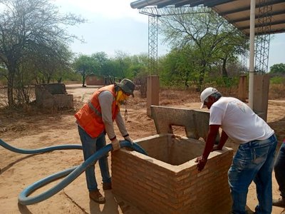 Ante sequía, SEN distribuye más de 22.500.000 litros de agua segura