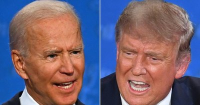 La Nación / Trump y Biden cabeza a cabeza en un escrutinio que podría demorar días