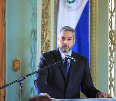 """Mario Abdo: """"Somos el primer Gobierno que al terminar va a poder decir que dejamos al país con su soberanía energética"""""""