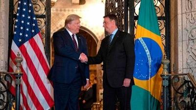 HOY / Bolsonaro reitera su apoyo a Trump y espera que sea reelegido