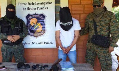 Cae peligroso criminal  brasileño en Itakyry