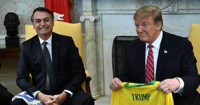 """La Nación / """"Espero que Trump gane"""", dice Bolsonaro"""