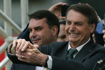 La Fiscalía brasileña denunció al hijo de Bolsonaro por corrupción