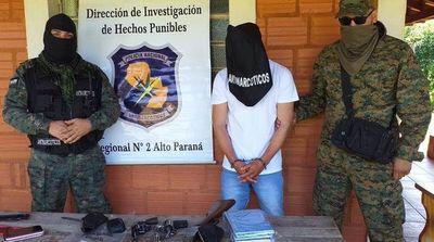 Capturan en Alto Paraná a narco brasileño