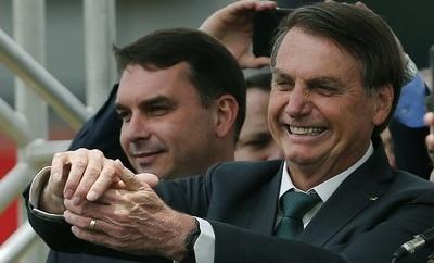 La Fiscalía brasileña denunció al hijo mayor de Jair Bolsonaro por corrupción