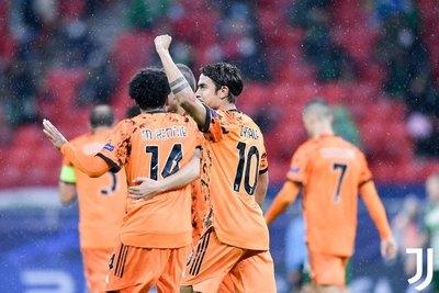 Juve golea, Barça sufre y PSG y United se complican en la Champions League