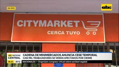 Cadena Citymarket anuncia cierre temporal