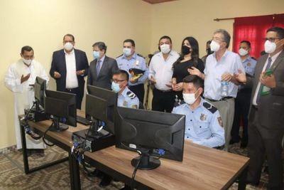 Yby Yaú: Inauguran videovigilancia del sistema del 911