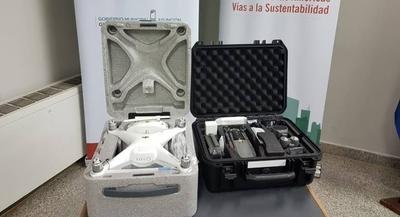 HOY / Utilizarán dos drones para monitoreo y control de incendios en áreas verdes de Asunción