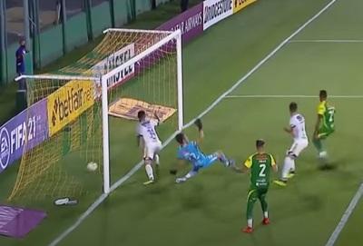 Dos goles tras bloopers en partido de Luqueño