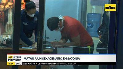 Asesinan a sexagenario en el barrio Sajonia