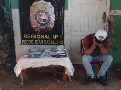 SENAD Incauta cocaína de alta pureza  en PJC