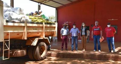 Sigue la distribución de provisión de alimentos en Alto Paraná