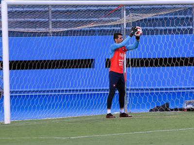 Rodrigo Muñoz está listo para volver a la portería azulgrana