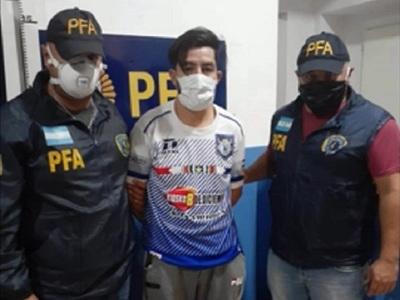 Argentina extradita a Paraguay a sospechoso de feminicidio