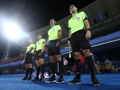 Los árbitros de la cuarta fecha del Clausura