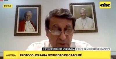 Caacupé: Misas a puertas cerradas y sin Tupãsy Ykua