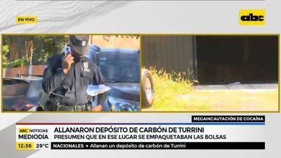 Presumen que cocaína se empaquetaba en depósito de Turrini allanado
