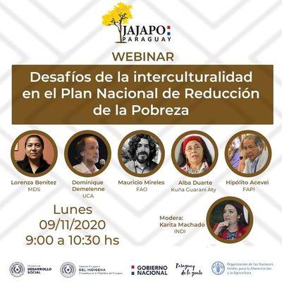 Analizarán desafíos de la interculturalidad en plan de reducción de la pobreza