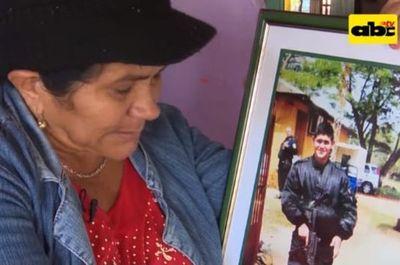 Senado concede pensión a doña Obdulia, madre del oficial Edelio Morínigo, secuestrado por el EPP