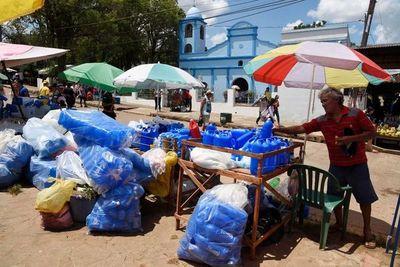 Confirman subsidio para vendedores de Caacupé