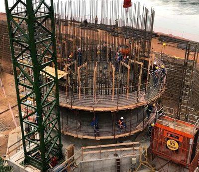 Vaesken acompaña gestión sobre obras complementarias en Franco