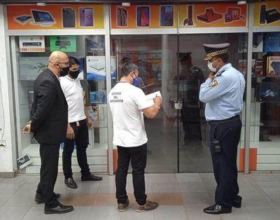 Turista brasileño denuncia robo en comercio de CDE