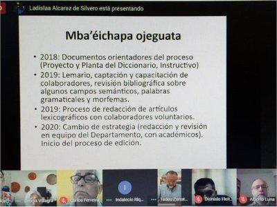 Academia de la Lengua Guaraní a punto de lanzar su primer diccionario guaraní