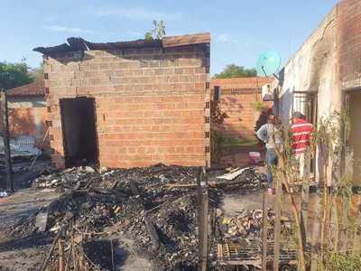 Concepción:  Incendio causa cuantiosos daños a una familia