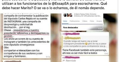 La Nación / Rejala denuncia escrache