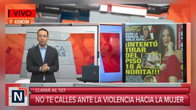 Maltrato contra la mujer: Norita Rodríguez denunció agresión por parte de su pareja