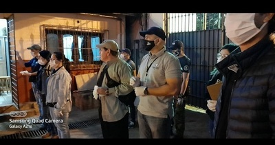 Allanamiento e incautación de armas y drogas en la cárcel de CDE