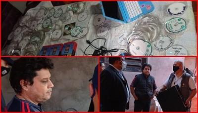 CDE: Allanamiento e incautación de armas y drogas en la cárcel regional