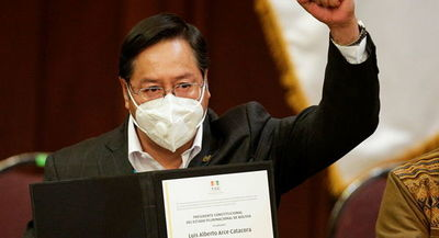 Bolivia: atentado contra Luis Arce a tres días de asumir la presidencia