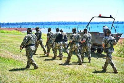 Fuerzas militares inician desplazamiento hacia las reservas naturales de Itaipu