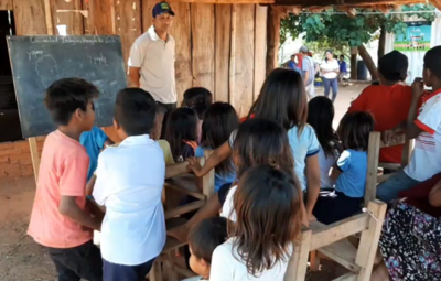 En San Pedro, parcialidad indígena reclama agua potable y aulas