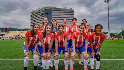 Paraguayas se coronaron subcampeonas de la Copa América Taiwán
