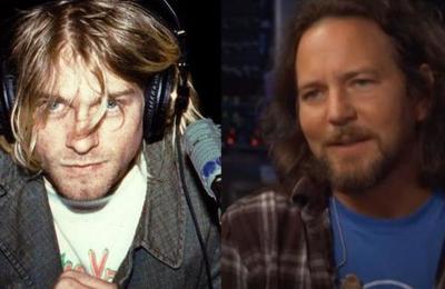 Eddie Vedder se refirió a la rivalidad con Kurt Cobain en la época dorada del grunge