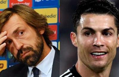La crítica de Andrea Pirlo a Cristiano Ronaldo: 'Debemos ser menos egoístas'
