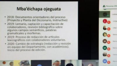 La Academia de la Lengua Guaraní aprobó el primer diccionario
