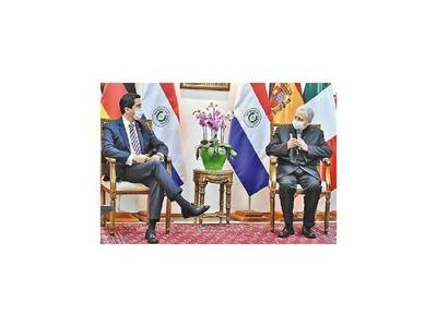 Canciller completa ronda de reuniones con diplomáticos
